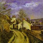 La casa del Dr. Gachetdi Auvers -  1873 - Olio su tela