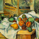 Table, Napkin, and Fruit, 1895