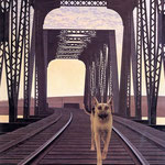 Dog and Bridge