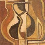A.N.F.M.A.R., 1960, tempera, cm 10,5x8,5.