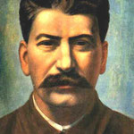 Portrait of Joseph Stalin. 1936.  Oil on canvas, 99 x 67 cm. The Russian Museum, St. Petersburg, Russia.