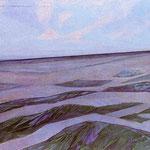 Piet Mondrian - Paesaggio di dune - 1910/11 - Olio su tela