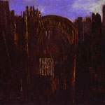 Cage, Forest and Black Sun, 1927
