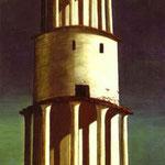 La Torre Grande - 1913 - Olio su tela
