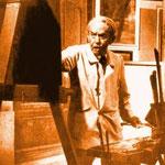 Foto artista al lavoro - 1947