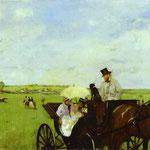 Gita alle corse - 1869 - Olio su tela