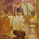 In sala da pranzo - 1886 - Olio su tela