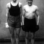 Boxers, Paul Rцderstein and Hein Hesse, 1928