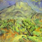 Monte Sainte-Victoire - 1900 - Olio su tela
