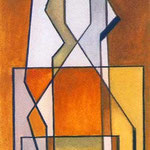 R.S.N.F., 1972, tempera, cm 18,5 x 10.