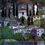 The Church in Cassone, 1913
