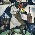 Il Violonista - 1912/13 - Olio su tela