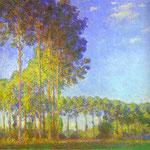 Claude Monet - Pioppi sulle rive del Epte - 1891 - Olio su tela