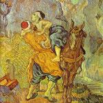 Il buon samaritano - 1890 - Olio su tela