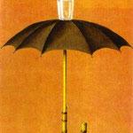 Le vacanze di Hegel - 1958 - Olio su tela