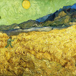 Wheatfield with a Reaper, 1889