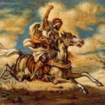 Árabe a caballo