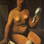 Nudo con specchio 1923