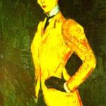 Giacca Donna in giallo (Rio delle Amazzoni) - 1909 - Olio su tela