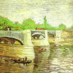 La Senna con il Pont de la Grande Jatte - 1887 - Olio su tela