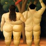 Fernando Botero - Adamo ed Eva (1998)