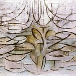Piet Mondrian - Melo in fiore - Olio su tela