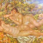Le Bagnanti Grande (Le Ninfe) - 1918-1919 - Olio su tela