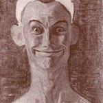 Autoritratto allegro di Mario Radice eseguito nel 1932 (olio su tela, cm 46 x 34).