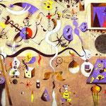 Il Carnevale di Arlecchino - 1924-1925 - Olio su tela