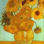 Dodici girasoli in un vaso - 1888 - Olio su tela