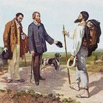Incontro bonjour monsieur Courbet - 1854