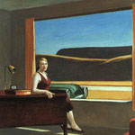 Edward Hopper - Western motel (1957)