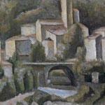 Carlo Carrà - San Giacomo di Varallo (1924)
