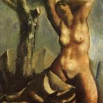 Nudo con albero 1930