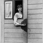 Girl in Fairground Caravan, 1926