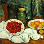 Still Life with Plate of Cherries, 1885