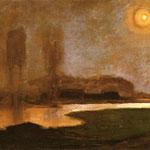 Piet Mondrian - Notte d'estate - 1906/1907 - Olio su tela