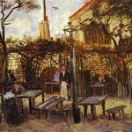 Terrazza del Café La Guinguuette - 1886 - Olio su tela