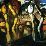 La metamorfosi di Narciso - 1937 - Olio su tela