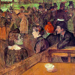 At the Moulin de la Galette, 1889