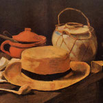 Still Life with Yellow Hat, 1885