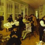 Ritratti in un azienda di cotone di New Orleans - 1873 - Olio su tela