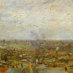 Vista di Parigi da Montmartre - 1886 - Olio su tela