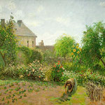 The Artist's Garden at Eragny, 1898