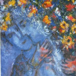 Lovers with the bouquet, 1954-55