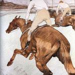 The Jockey - 1899 - Litografia