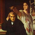 Cherubini e la musa della lirica - 1842