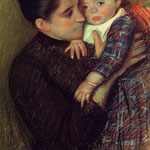 Woman and her Child, 1890