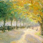 Hyde Park, London, 1890