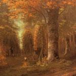 La foresta in autunno